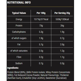 SiS Overnight Protein 1kg Chocolate